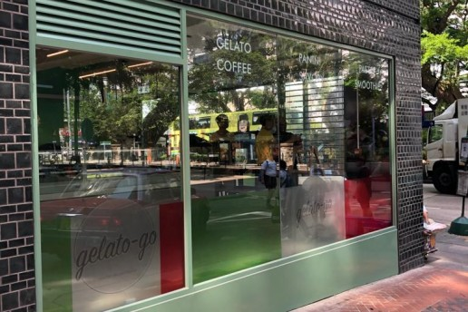 Firs-ever Gelato-go shop in Hong Kong at The Nate